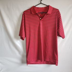 Men's CHAPS Red/Black Medium Polo Shirt